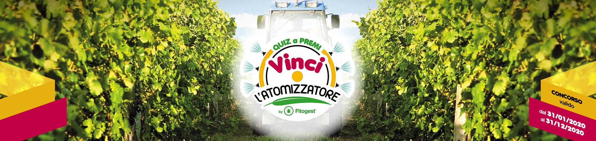 Quiz a premi Vinci l'Atomizzatore